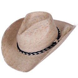 Unisex Dakota Light/Natural Hat w/SSB