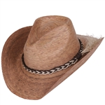 Unisex Dakota Tan/Natural Hat w/SSB