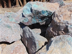 "Curaco Blue Boulders Rock 12"" - 18"""