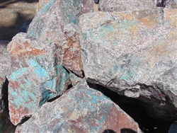 "Curaco Blue Large Landscaping Rock near me 36"" - 48"""