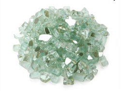 Green Reflective Tempered Glass 1/4""