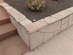 "Arizona Peach Flagstone 24"" x 24"" x 2"""