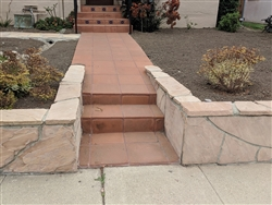 "Arizona Peach Flagstone Patio 3"" - 4"""