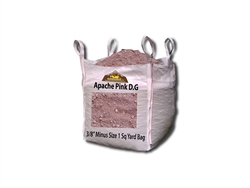 "Apache Pink D. G. 3/8"" Minus - Sand For Pavers"
