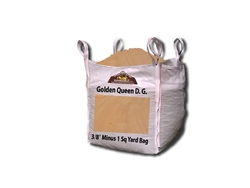 "Golden Queen Decomposed Granite 3/8"" Minus"