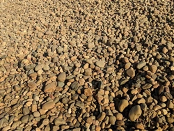 "Lodi Gold River Rock 4"" - 12"" Per Ton - Crushed Stone"