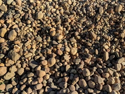 "Lodi Gold River Rock 4"" - 8"" Per Truck - Crushed Granite"