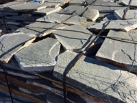 Park Valley Green Quartzite Flagstone Patio