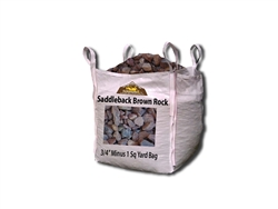"Saddleback Brown Gravel 3/4"" Minus Per Yard - Landscape Stone"