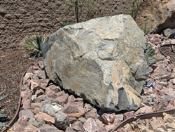 "Saddleback Brown Granite Rip Rap 3"" x 8"""