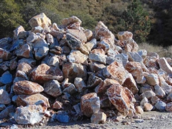 "Golden Sierra Quartz Boulders Rock 24"" - 30"""