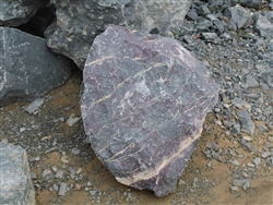 "Purple Lilac Spring Decorative Boulders 12"" - 18"""