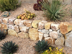 "Golden Green Granite Boulders Rock 24"" - 30"""