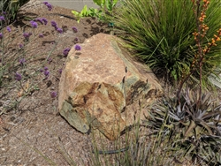 "Golden Green Granite Decorative Boulders 30"" - 36"""