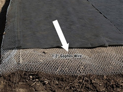 "Hardware Cloth 1/2"" 48"" X 100' Material For Bocce Ball Court - Gopher Control wire"