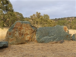 "Gold Country Landscape Boulders Rock 30"" - 36"""