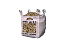 "Shasta Gold Decomposed Granite 3/8"" Minus - Decomposed Granite Patio"