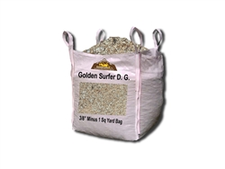 "Golden Surfer D. G. 3/8"" Minus - Crushed Granite"