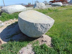 "White Granite Decorative Rock Boulders 36"" - 48"""