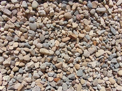 "Fiesta River Rock 1-1/2"" Truckload Per Ton - Landscaping Rocks"