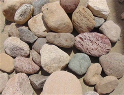 "Fiesta River Rock 3"" to 6"" Truckload Per Ton - Landscaping Rocks"