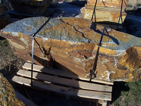 "Yukon Gold Quartzite Boulders Rock 24"" - 30"""