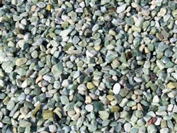 Polished Jade Green Gravel Pebbles
