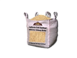 "California Gold Stabilized D. G. 3/8"" Minus - installing decomposed granite with stabilizer"