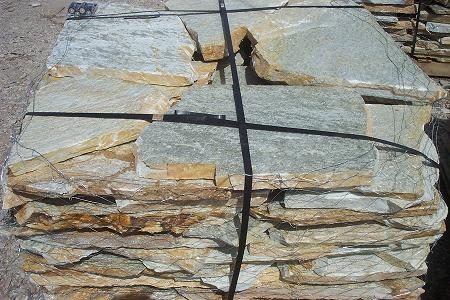 silver amber quartzite flagstone 1 1 2 quarry landscape supply. Black Bedroom Furniture Sets. Home Design Ideas