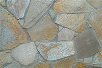"Platinum Gold Quartzite Flagstone Patio 1"" to 2"""