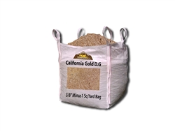"California Gold D. G. 3/8"" Minus - Decomposed Granite Color Types"