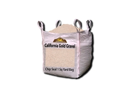 California Gold Rock Chip Seal paving - Crushed Stone