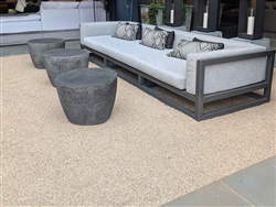 California Gold Rock Chip Seal paving