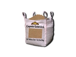"Coyote Gold Decomposed Granite 3/8"" Minus - Types of D.G."