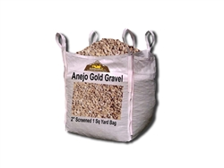 "Bark Brown Gravel 2"" Screened Per Ton"