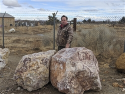 "Mojave Sunset Decorative Boulders Rocks 36"" to 48"""