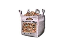 "Salt River Rock Cobble 6"" - 18"" Per Ton"