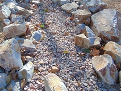 "Apache Sunset Gravel 3/4"" Truck Load - Decorative Stone"