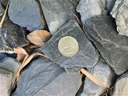 "Chili Bar Slate Chips landscaping  1"" to 3"" Truck Load - Landscape Gravel"