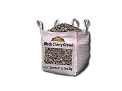 "Black Cherry Rock 1-1/4"" - Landscaping Rocks"