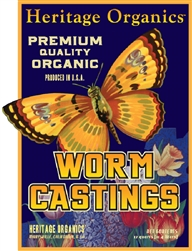 Heritage Organics Worm Castings - Soil Amendments