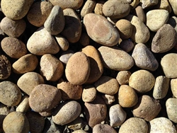 "Mission River Rock 2"" - 4"" Bulk - River Rock Landscaping"