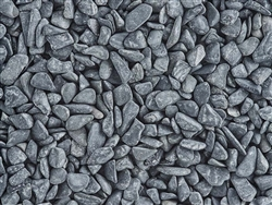 Black Bean Pebble Rock Pebbles 1/5""