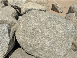 "Grey Granite Large Landscaping Rock For Sale 36"" - 48"""