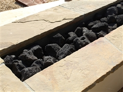 "Black Cinders Lava Rock 3"" - 9"" - Landscape Rocks For Sale Near Me"