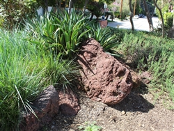 "Red Lava Large Boulders 30"" - 36"""