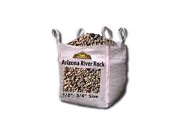 "Arizona River Rock 1/2"" x 3/4"" Per Yard - River Rocks"