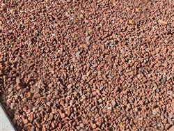 "Red Lava Rock 1/2"" - Rock Landscaping"