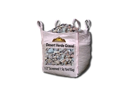 "Desert Verde Gravel 1/2"" Screened - Landscape Supplies"