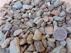 "Desert Verde Gravel 1/2"" Screened"